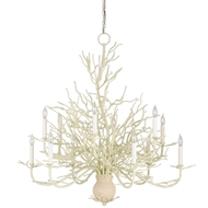 Currey & Company Lighting Seaward Chandelier in Large