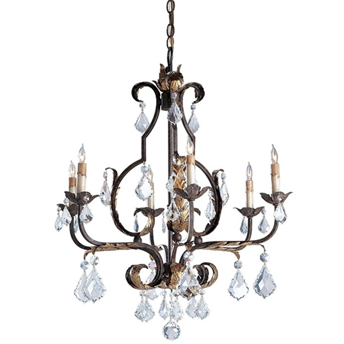Currey Company Lighting Tuscan Chandelier Large