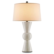 Currey & Company Lighting Upbeat Table Lamp, Antique White