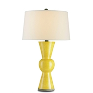 Currey & Company Lighting Upbeat Table Lamp, Yellow