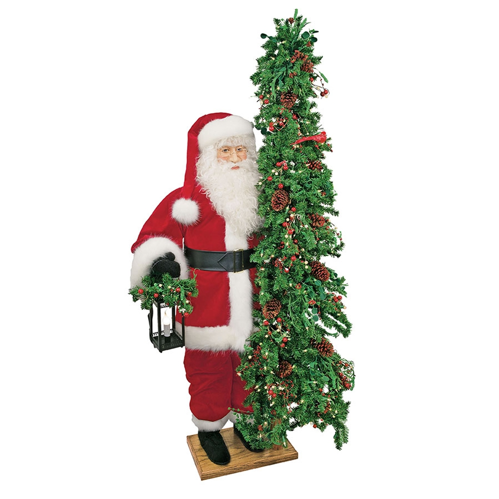 ditz designs life size father christmas tree