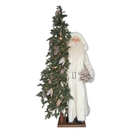 Ditz Designs Nature Star Life Size Father Christmas Santa