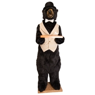 Butler Party Bear 58 in Black