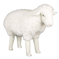 62802 Ditz Designs Lincoln Sheep Footrest