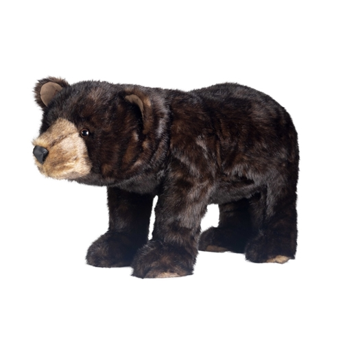 Ditz Designs Grizzly Bear Footrest 60029