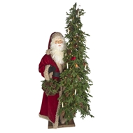 "Ditz Designs Old World Holiday Father Christmas Santa 57"" 11939"