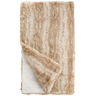 Fabulous Furs Blonde Mink Faux Fur Throw Couture Collection
