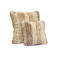 Fabulous Furs Blonde Mink Faux Fur Pillow