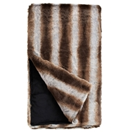 Fabulous Furs Chinchilla Faux Fur Throw LImited Edition