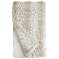 Fabulous Furs Lynx Faux Fur Throw Limited Edition donna salyers fabulous furs