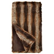 Fabulous Furs Tanuki Faux Fur Throw Limited Edition donna salyers fabulous furs
