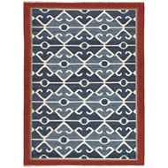 Jaipur Sultan Rug from Anatolia Collection - Tango Red