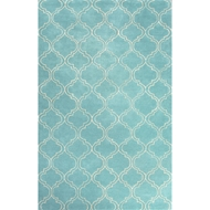 Jaipur Hampton Rug from Baroque Collection - Dusty Turquoise