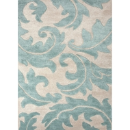 Jaipur Aloha Rug from Blue Collection - Rainy Day
