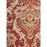 Jaipur Brocade Rug from Brio Collection - Baked Apple