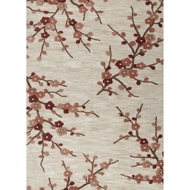 Jaipur Cherry Blossom Rug from Brio Collection - White Asparagus