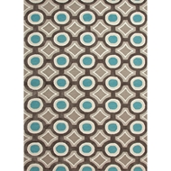 Jaipur Mosaic Rug from Brio Collection - Black Olive