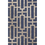Jaipur Dallas Rug from City Collection - Medieval Blue
