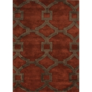 Jaipur Regency Rug from City Collection - Baked Clay