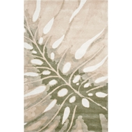 Jaipur Monstera Rug from Coastal Living Collection - Beetle