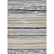 Jaipur Sketchy Lines Rug from Colours Collection - Silver Green