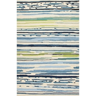 Jaipur Sketchy Lines Rug from Colours Collection - Snow White