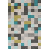 Jaipur Mason Rug from Fusion Collection - Wind Chime