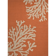 Jaipur Bough Out Rug from Grant I-O Collection - Apricot Orange