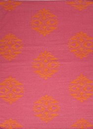 Jaipur Nada Rug from Maroc Collection - Pink Flambe
