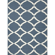 Jaipur Rafi Rug from Maroc Collection - Blue Ashes