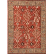 Jaipur Chambery Rug from Poeme Collection - Burnt Ochre