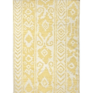 Jaipur Farid Rug from Urban Bungalow Collection - Misted Yellow