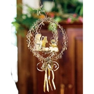 Jeremie Corp Gilded Globe Nativity Ornament
