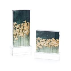 John-Richard Gold Over Teal - Set of 2 JRA-10888S2