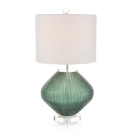 "John-Richard 24.5"" Hydro Green Lamp JRL-9989"