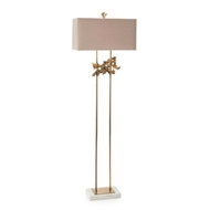 "John-Richard 68.75"" Sculpted Aperture Floor Lamp JRL-9990"