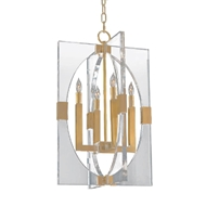 John-Richard Acrylic Frame 4 Light Pendant AJC-9045