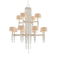 John-Richard Cascading Crystal Waterfall Chandelier AJC-8884