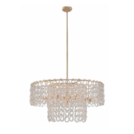 John-Richard Crystal Chain 13 Light Pendant AJC-9026