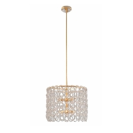 John-Richard Crystal Chain 6 Light Pendant AJC-9025