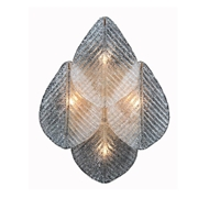 John-Richard Frosted Glass Petal Wall Sconce AJC-9116