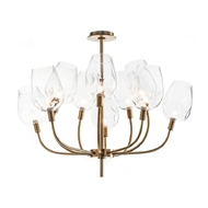 John-Richard Glass Globe Ten Light Chandelier AJC-8964