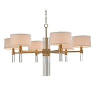 John-Richard Glass Rod 6 light Chandelier AJC-8828