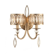 John-Richard Marquise Crystal Two Light Wall Sconce AJC-8887