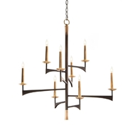 John-Richard Mid-Century Asymmetrical Eight Chandelier AJC-8926