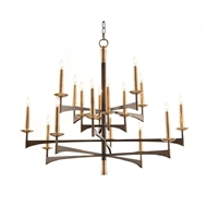 John-Richard Mid-Century Sixteen Light Chandelier AJC-8925