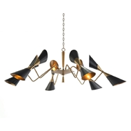 John-Richard Mid-Century Twelve Light Chandelier AJC-8973