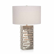 "John-Richard Acrylic Block Illuminating 28"" Lamp JRL-9641"