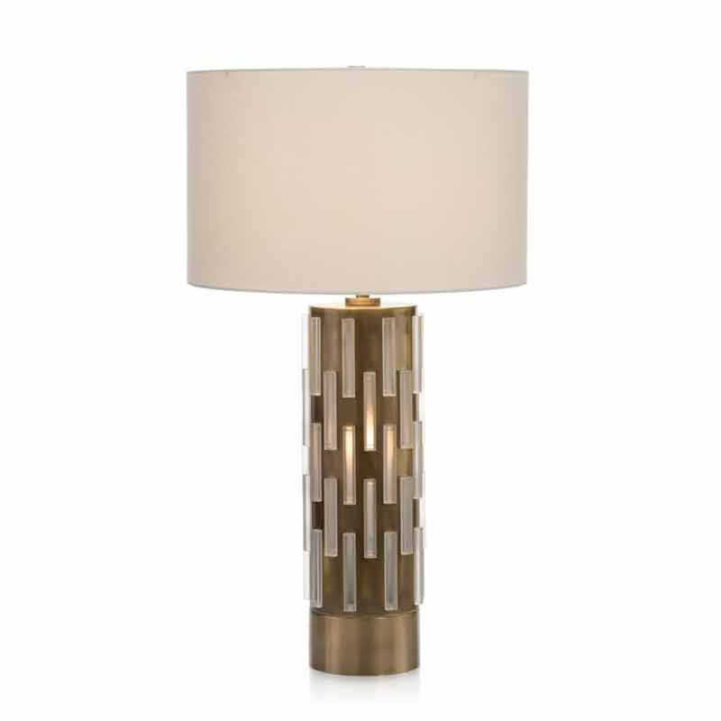 john richard acrylic block illuminating table lamp free shipping
