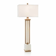 John-Richard Alabaster Buffet Lamp JRL-9567